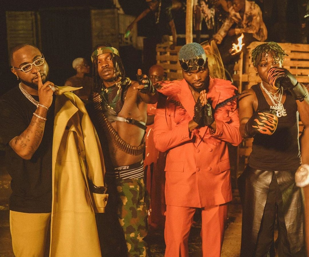 Davido Sweet In The Middle Video