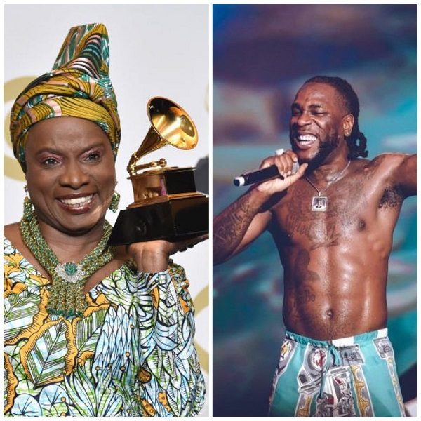 Angelique Kidjo Burna Boy