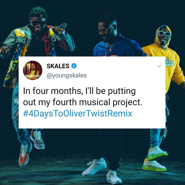 Skales to drop his fourth studio album in May