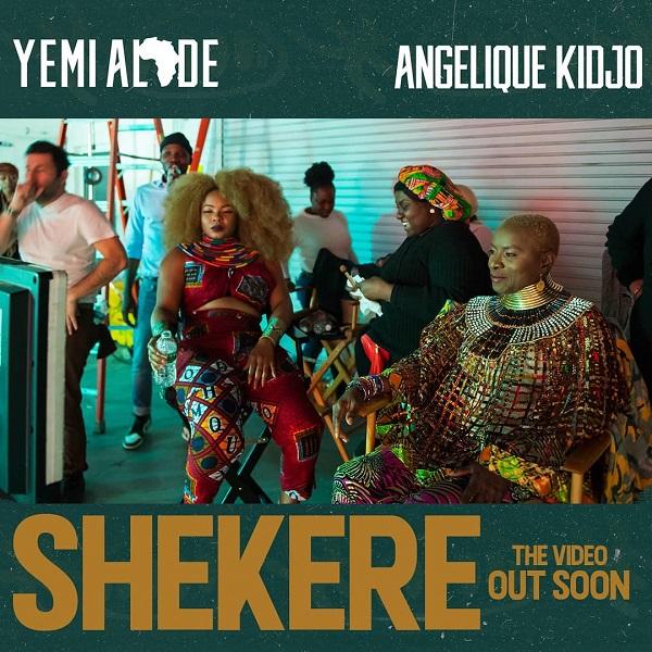 Yemi Alade Shekere Video Art