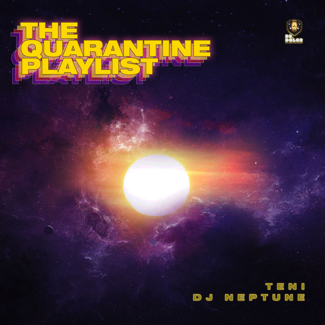 Teni, DJ Neptune The Quarantine Playlist Art