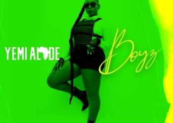 Yemi Alade Boyz Artwork