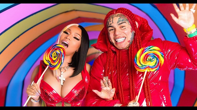 6ix9ine & Nicki Minaj Trollz Video