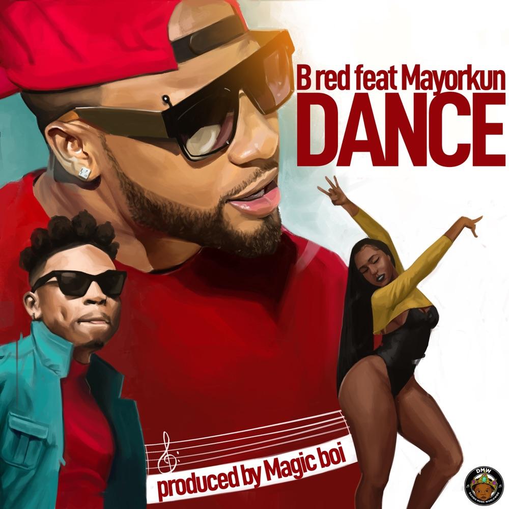 B Red Dance Art
