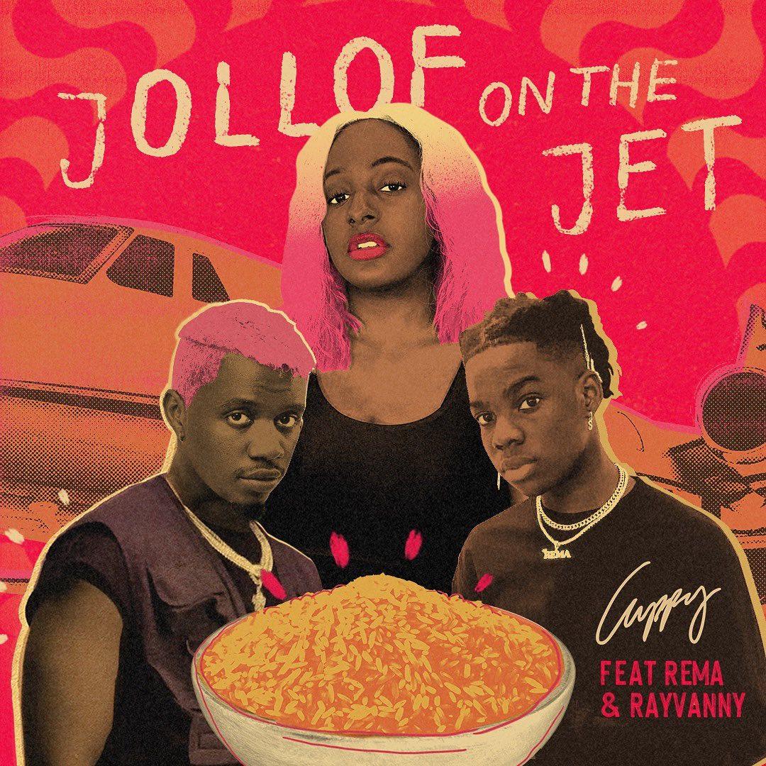 Cuppy Jollof On The Jet Ft Rema Rayvanny