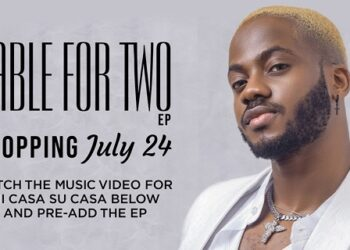Korede Bello To Drop Table For Two Ep