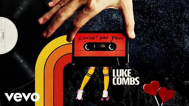 Luke Combs Lovin' On You (lyric Video)