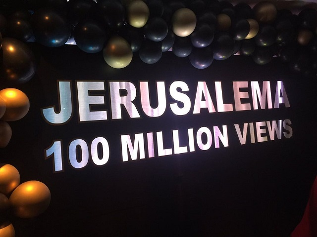 Master KG-Jerusalema reaches 100 million views on Youtube