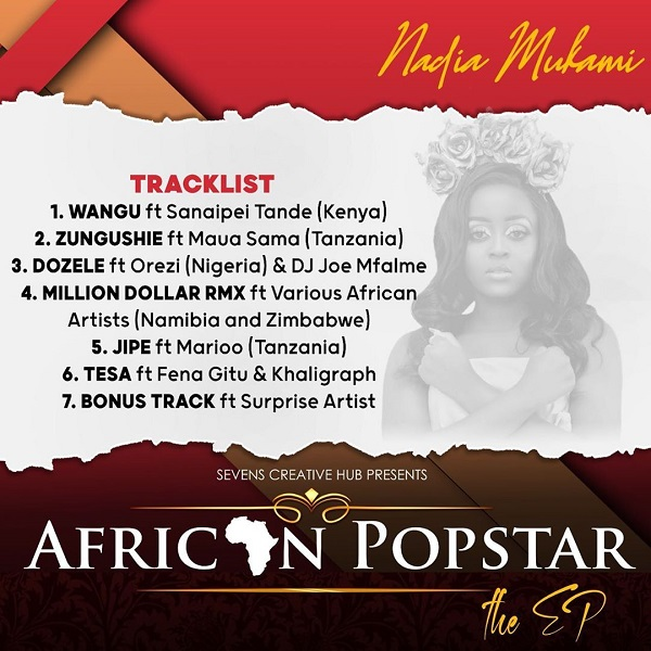 Nadia Mukami African Popstar The Ep