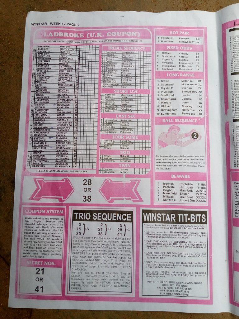 Week 12 Winstar 2020 Page 2