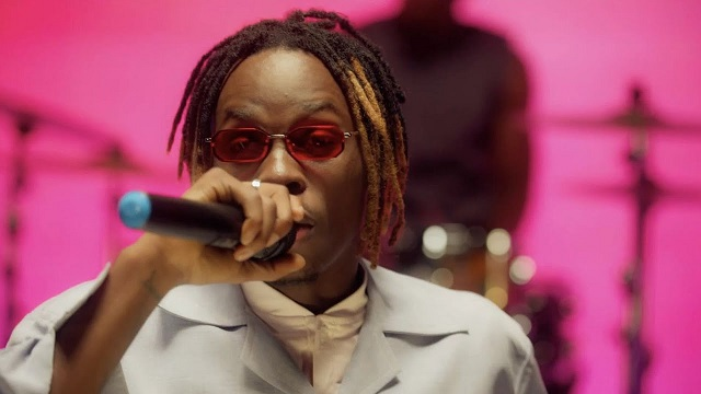 Fireboy DML at The Tonight Show Video