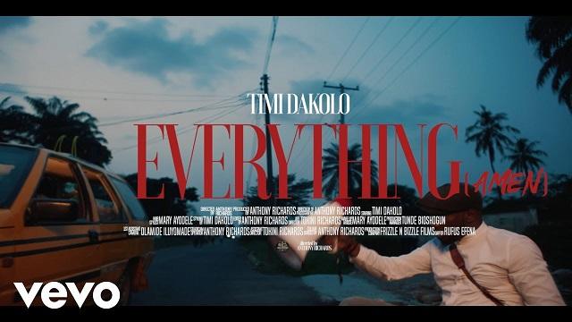 Timi Dakolo Everything Amen Video