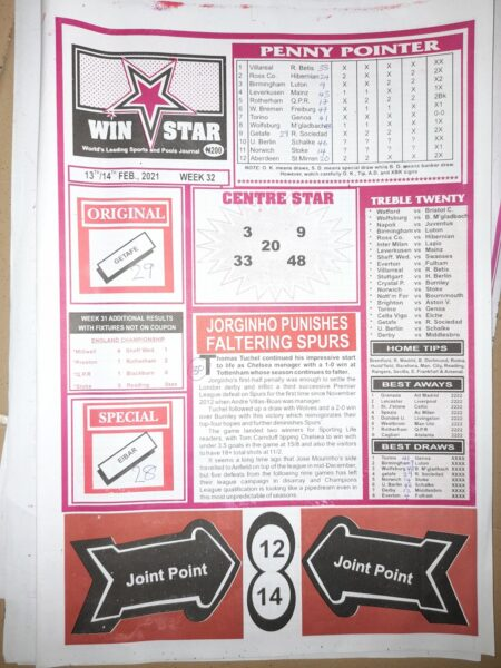 week 32 winstar 2021 page 1