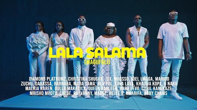 Tanzania All Stars Lala Salama Magufuli Video